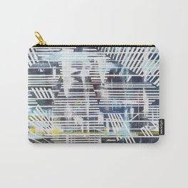 Lines blue Carry-All Pouch