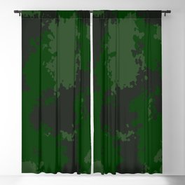 Camouflage jungle 1 Blackout Curtain