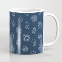 Little Monsters (blue) Coffee Mug