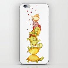 turtles iPhone & iPod Skin