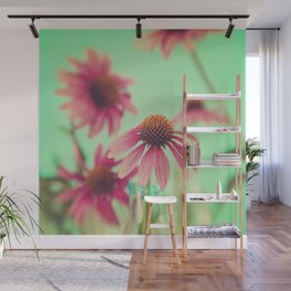 The Coneflowers Wall Mural