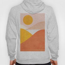 Abstraction_Mountains Hoodie