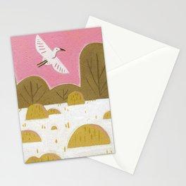 Snowy Egret Stationery Cards
