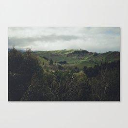 Taihape Hills Canvas Print