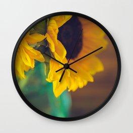 Summer's End Wall Clock