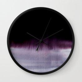 Squall Monochrome Wall Clock