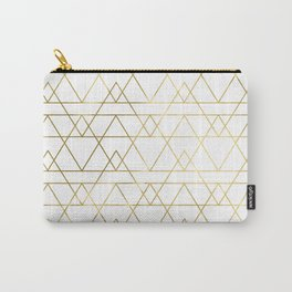 Modern Gold Carry-All Pouch
