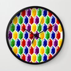 Hyrule Rupees x6072 Wall Clock