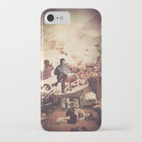 tv iPhone & iPod Cases featuring 'Television' by Tim Green