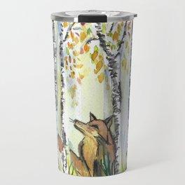 Fox in the Woods Travel Mug