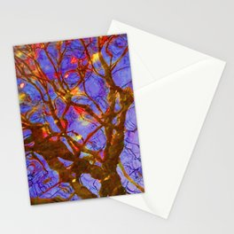 Urban Painting 123 - Purple Stationery Cards