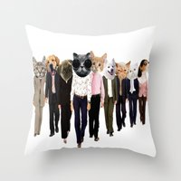 olivia joy Throw Pillows featuring Olivia by ∆∑M¬