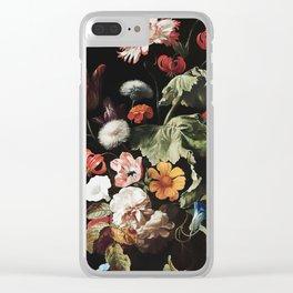 Antique Botanical II Clear iPhone Case