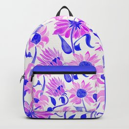 Sunflower Watercolor – Indigo Palette Backpack