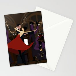 Orchestra and dance Stationery Cards