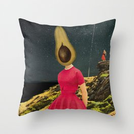 Agoraphobia Throw Pillow