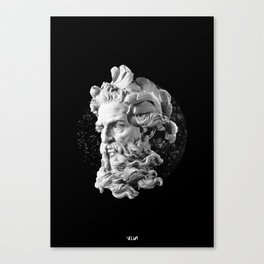 Sculpture Head II Canvas Print