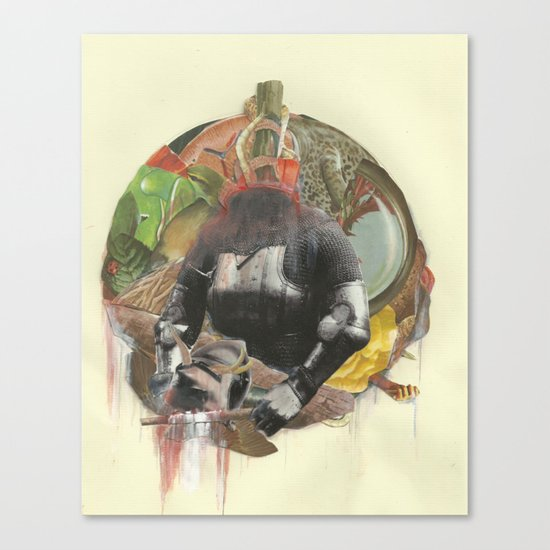 Carrion Canvas Print