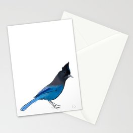 Steller's Jay Stationery Cards
