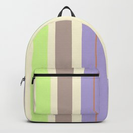 Stripes in fresh color for a good mood. Backpack