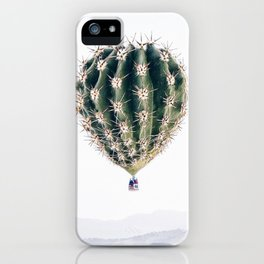 Flying Cactus iPhone Case