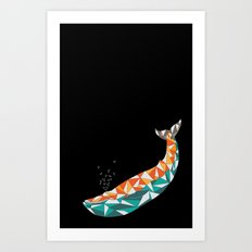 For the Love of Whales Art Print