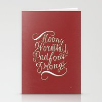 marauders Stationery Cards featuring marauders by Marta Lemon