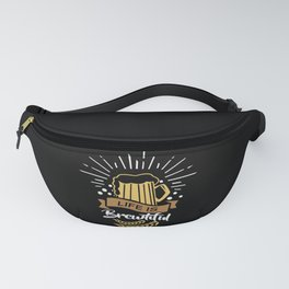 Life is Brewtiful | Beer Brewer Oktoberfest Fanny Pack