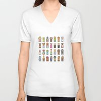 muppets V-neck T-shirts featuring Muppets by Big Purple Glasses