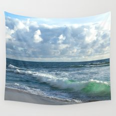Sea Green Wall Tapestry