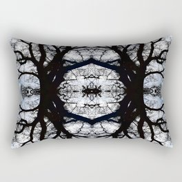 Treeflection III Rectangular Pillow