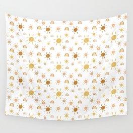 Mr. Golden Sun Wall Tapestry