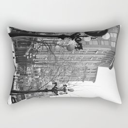 historic gastown  Rectangular Pillow