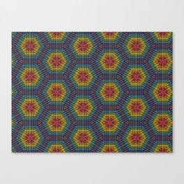 Honeycomb Weave Canvas Print