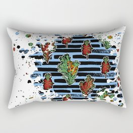 Australian Native Florals Graphic Splotch Rectangular Pillow