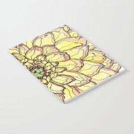 Yellow Flower Love Notebook