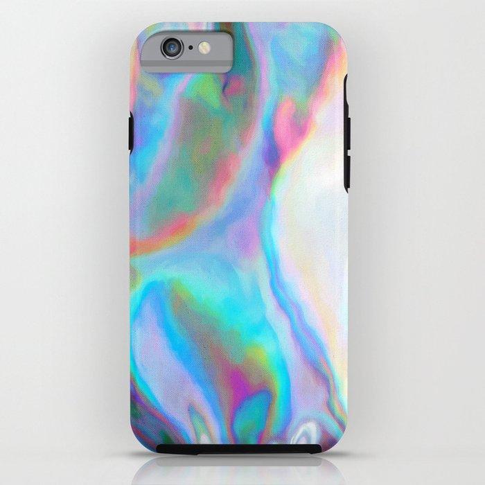 Iridescence 2 - Rainbow Abstract iPhone Case