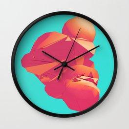 Day 0316 /// Bubblegum Cough Wall Clock