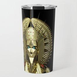 Egyptian Mask Travel Mug