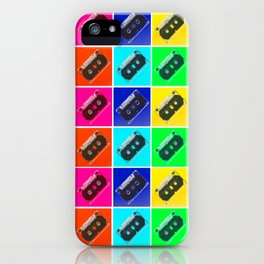 mixed tape iPhone Case