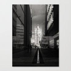 Into The Light London Canvas Print