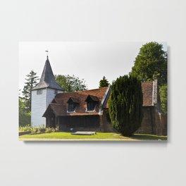 Greensted Church Metal Print