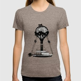 Airship Love Craft T-shirt