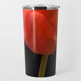 Red Tulip Travel Mug