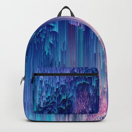 Fairy Glitches - Abstract Pixel Art Backpack