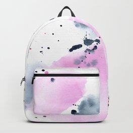 Indigo love || watercolor Backpack