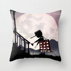 Dalek Kid Throw Pillow