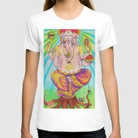 ganesha T-shirts featuring Ganesha by Lioz