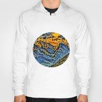 geology Hoodies featuring mountain by Alexandr-Az
