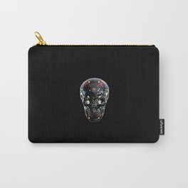 Super Cool Artsy Skull Carry-All Pouch